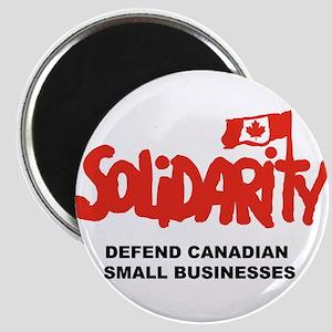 Solidarity Canada Magnets