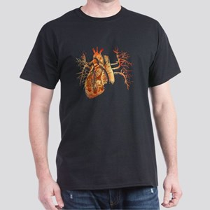 Virgin of Guadalupe in Real heart Dark T-Shirt