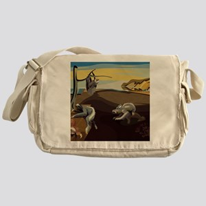 Persistence of Sloths Messenger Bag