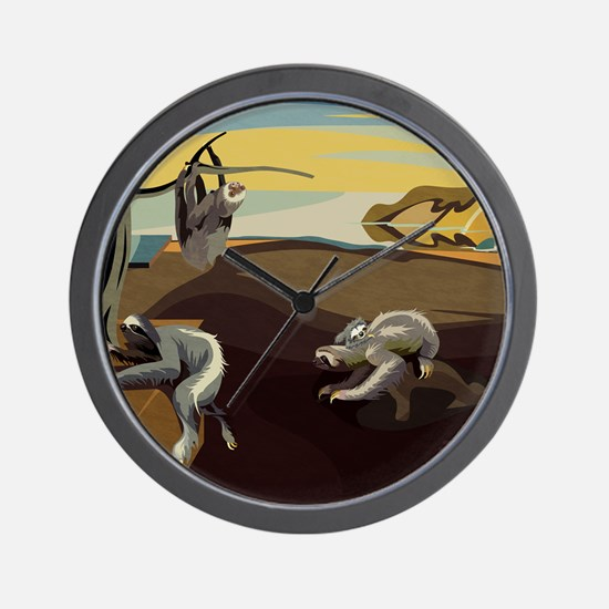 Persistence of Sloths Wall Clock
