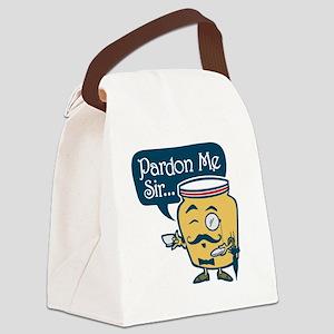 Dijon Canvas Lunch Bag