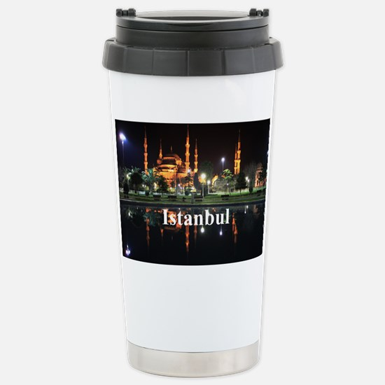 Istanbul_5x3rect_sticke Stainless Steel Travel Mug
