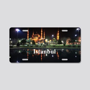 Istanbul_5x3rect_sticker_Ha Aluminum License Plate