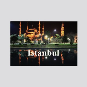 Istanbul_5x3rect_sticker_HagiaSop Rectangle Magnet