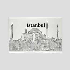 Istanbul_15x10_HagiaSophia Rectangle Magnet