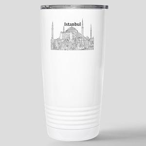 Istanbul_15x10_HagiaSop Stainless Steel Travel Mug