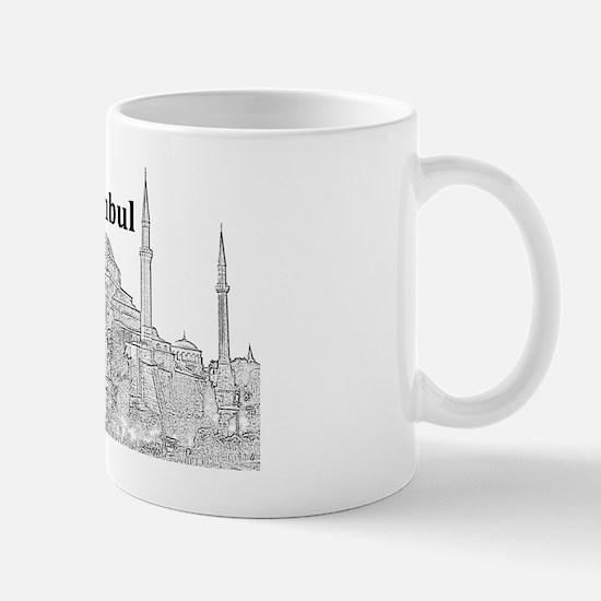 Istanbul_15x10_HagiaSophia Mug