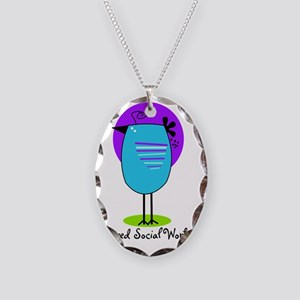 RT SW 9 Necklace Oval Charm