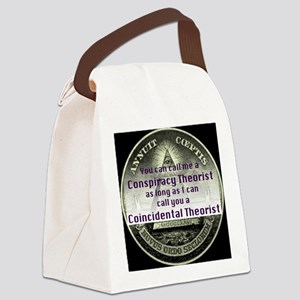Coincidental Theorist Canvas Lunch Bag