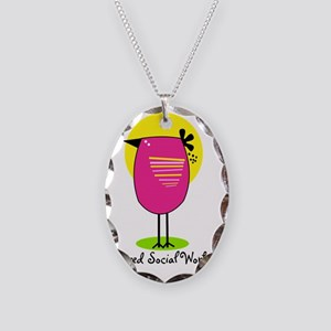 RT SW 8 Necklace Oval Charm