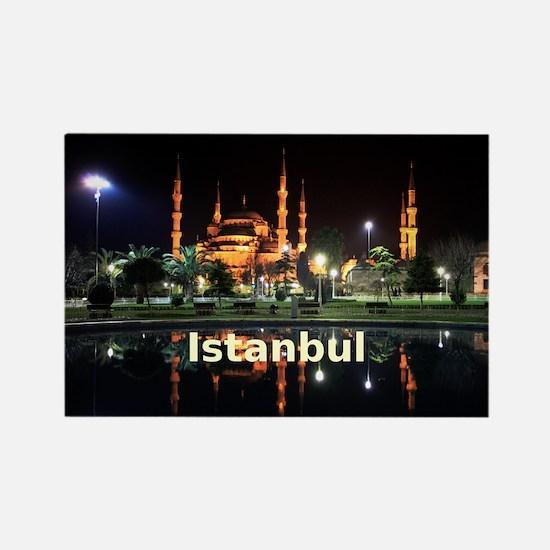 Istanbul_2x3_magnet_HagiaSophiaNi Rectangle Magnet