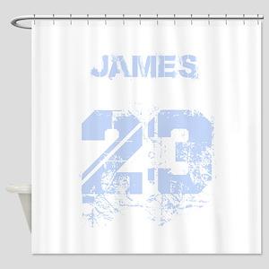 James 23 Shower Curtain