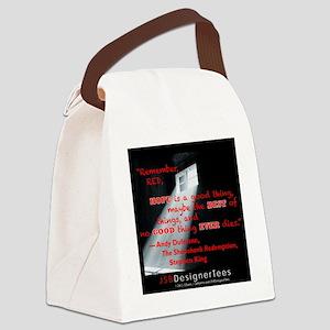 SHAWSHANK HOPE RED DESIGN! Canvas Lunch Bag