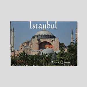 Istanbul_19X12_Bag_HagiaSophia Rectangle Magnet