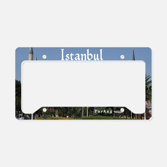 Istanbul_19X12_Bag_HagiaSophi License Plate Holder