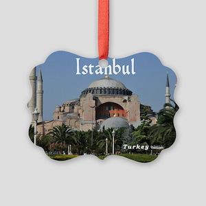 Istanbul_19X12_Bag_HagiaSophia Picture Ornament