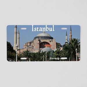 Istanbul_19X12_Bag_HagiaSop Aluminum License Plate