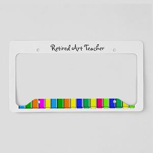 retired Art Teacher 2013 License Plate Holder