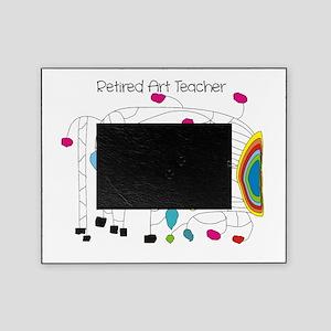 Retired Teacher B Art Picture Frame