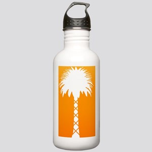 Neon Palm (Orange) Stainless Water Bottle 1.0L