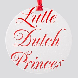 Little Dutch Princess Round Ornament