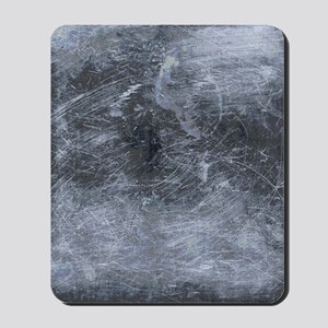 Scratched Metal Plate Shower Curtain Mousepad