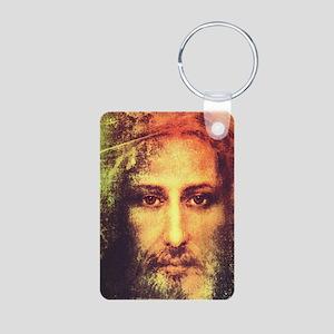 Image of Christ Aluminum Photo Keychain