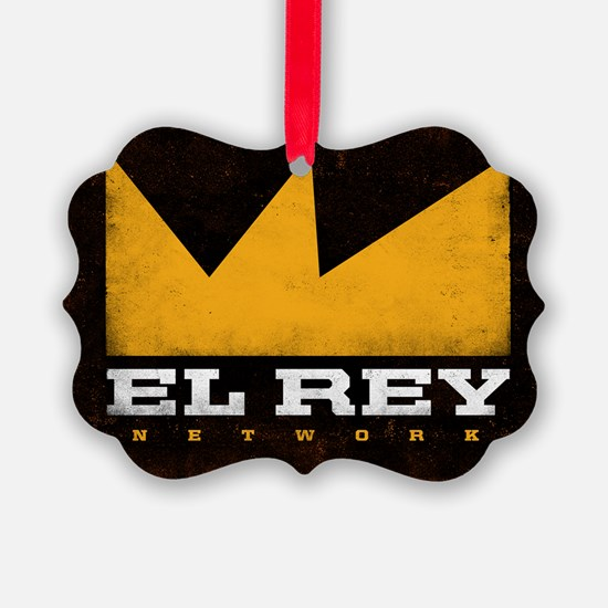El Rey Black Logo Ornament
