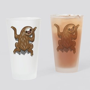 Baby Sloth Drinking Glass