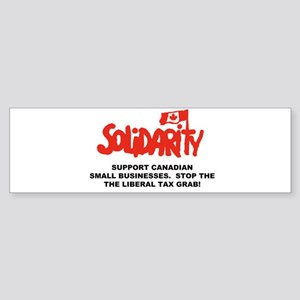 Tax Grab Canada Bumper Sticker
