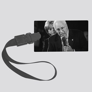 DICK CHENEY Large Luggage Tag
