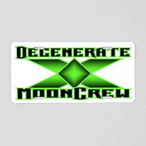 DMC Logo Aluminum License Plate