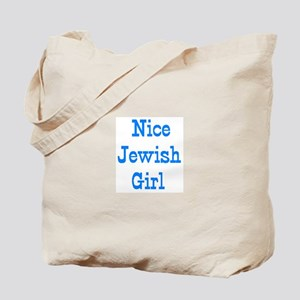 nice jewish girl Tote Bag