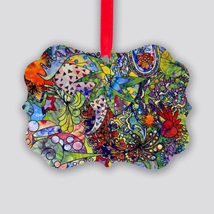 cool Paisley Picture Ornament