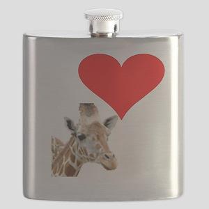 i love giraffe Flask