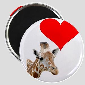i love giraffe Magnet