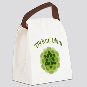 Tikkun Olam Recycle Canvas Lunch Bag