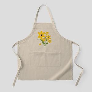 Summer Yellow Flowers Apron
