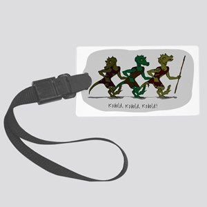 Kobold, kobold, kobold! Large Luggage Tag