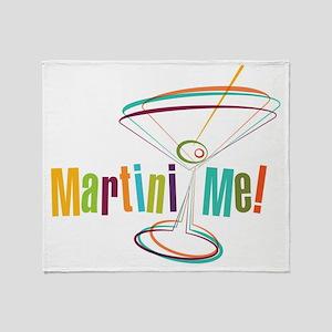 Martini Me! Throw Blanket