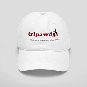 Tripawds Three Legged Dogs Tagline Cap