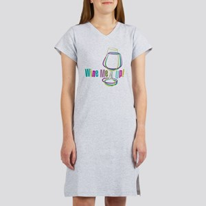 Wine Me Up! Women's Nightshirt