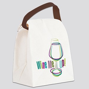 WineMeUp_WHT_FNL-01 Canvas Lunch Bag