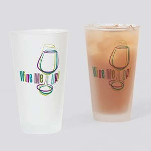 WineMeUp_WHT_FNL-01 Drinking Glass