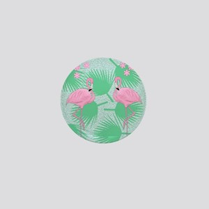 flamingos Mini Button