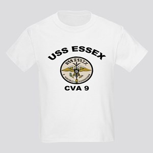 USS Essex CVA 9 Kids Light T-Shirt