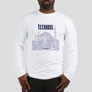 Istanbul_10x10_HagiaSophia_v1_ Long Sleeve T-Shirt