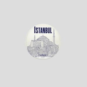 Istanbul_10x10_HagiaSophia_v1_Blue Mini Button