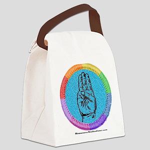 rainbow-badge Canvas Lunch Bag