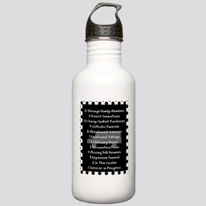 funeral proof 8 Stainless Water Bottle 1.0L